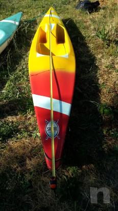 coppia canoe con pagaie foto-5510