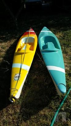 coppia canoe con pagaie foto-5508