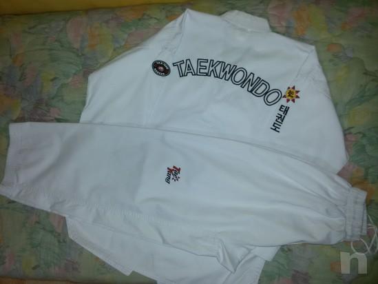 Dobok Kimono Taekwondo misura 180 cm foto-302