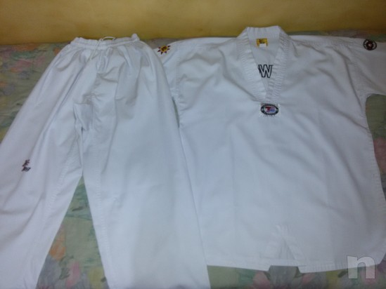 Dobok Kimono Taekwondo misura 180 cm foto-317