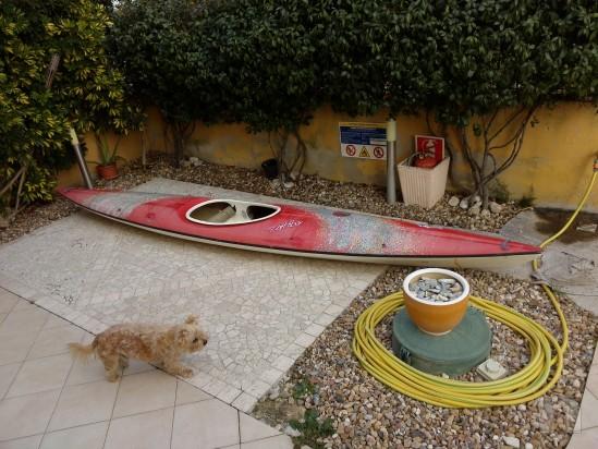 canoa in vetroresina foto-5730