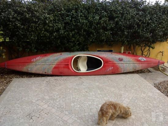 canoa in vetroresina foto-3266