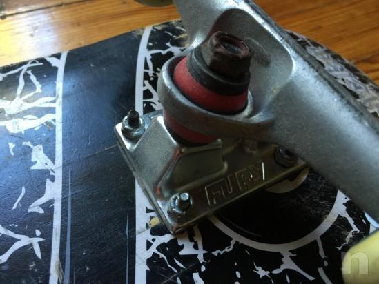skateboard top con neccanicge Fury e ruote e cuscinetti top foto-5751