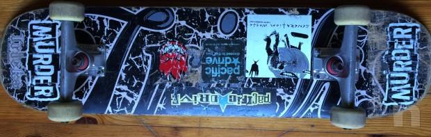 skateboard top con neccanicge Fury e ruote e cuscinetti top foto-3273