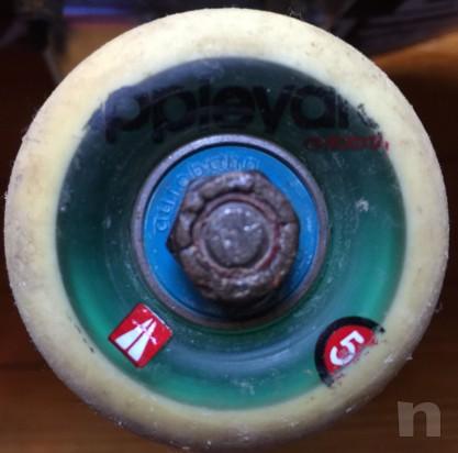 skateboard top con neccanicge Fury e ruote e cuscinetti top foto-5752