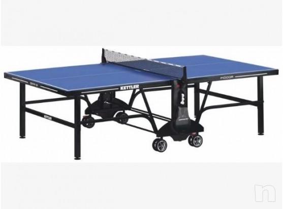 Ping Pong Spin9 Kettler con Accessori Ultimo pezzo Già Montato foto-330