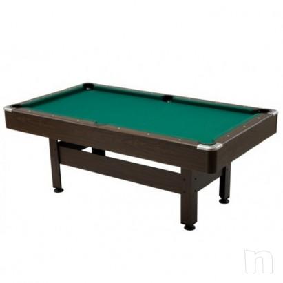 Biliardo Pool Virginia 6 Garlando Seconda scelta con Accessori senza difetti foto-342