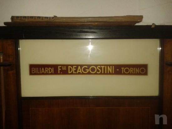 vendo biliardo degli anni '80 de agostini in buone condizioni. foto-6252