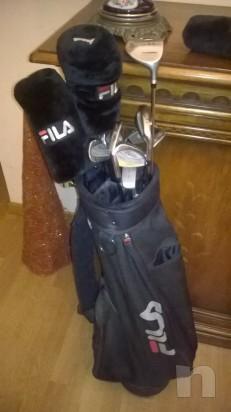mazze da golf piu sacca tutto marca fila foto-3523
