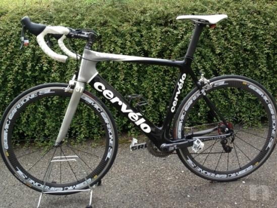 Bicicletta Da Corsa Cervelo S3 Completamente In Carbonio