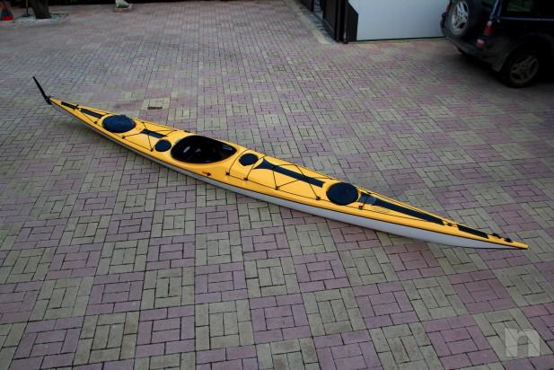 Kayak Tahe Marine WIND 585 in carbonio e kevlar foto-3627