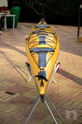 Kayak Tahe Marine WIND 585 in carbonio e kevlar foto-6401
