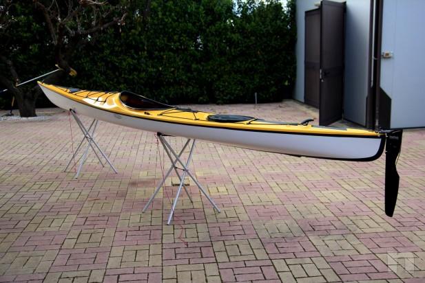 Kayak Tahe Marine WIND 585 in carbonio e kevlar foto-6400