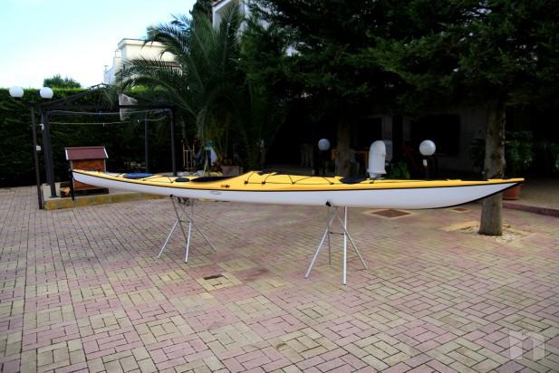 Kayak Tahe Marine WIND 585 in carbonio e kevlar foto-6402