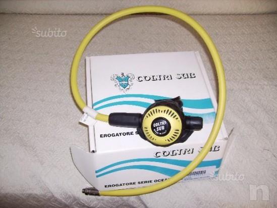 Octopus mod. C1000, II° stadio erogatore c/frusta foto-3679