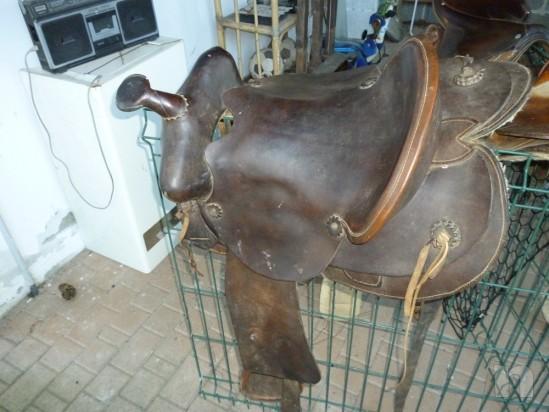 Sella per cavallo di tipo americana foto-374