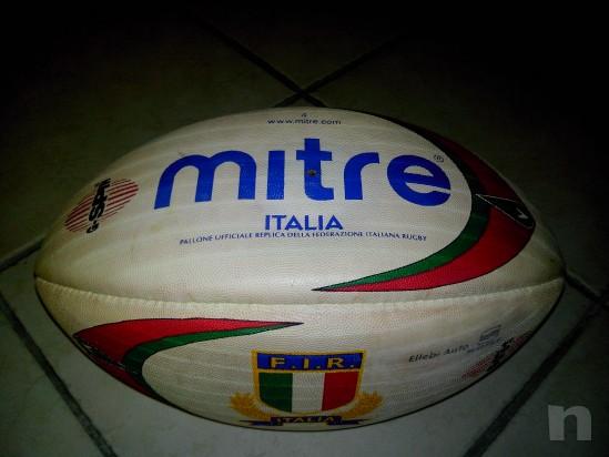 Pallone da Rugby F.I.R. della Mitre anno 2004 foto-6743