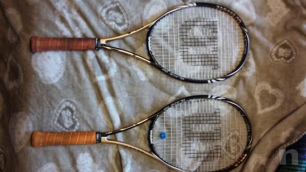 Racchetta tennis Wilson BLX blade 98  foto-3818