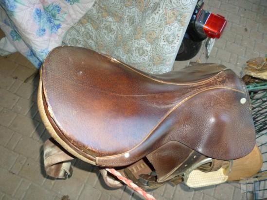 Sella per cavallo inglese foto-375