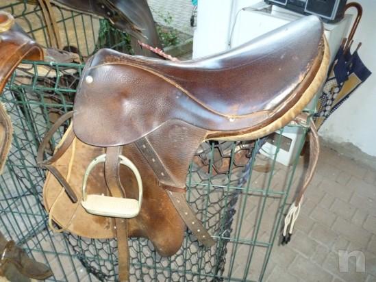 Sella per cavallo inglese foto-382