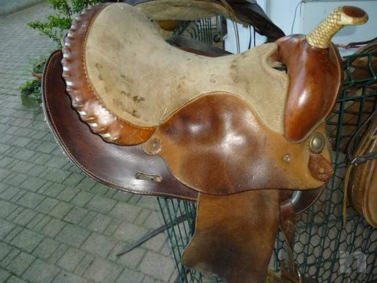 Sella per cavallo western americana foto-383