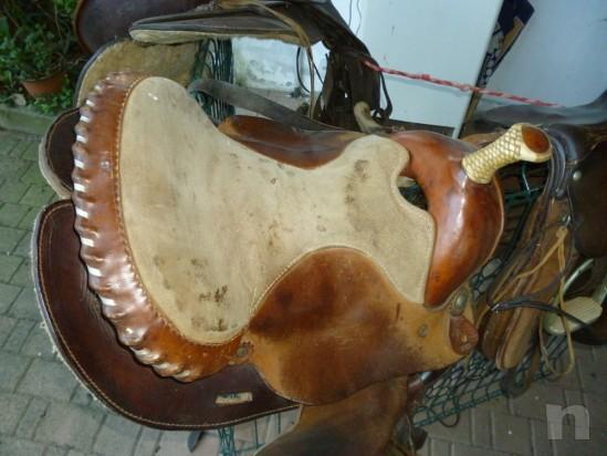 Sella per cavallo western americana foto-377
