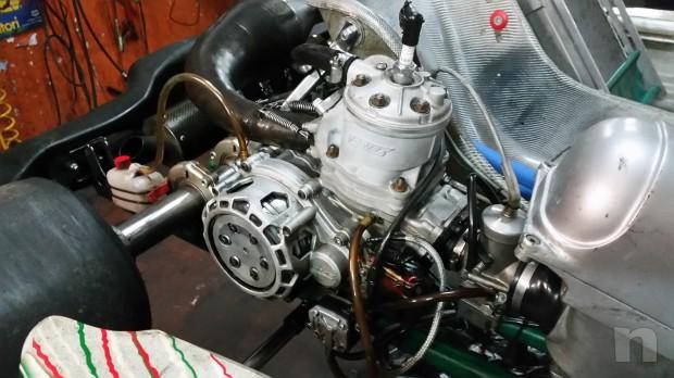 Go kart 125 a marce con cambio al volante me-shifter F1 foto-6837