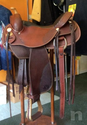 SELLA WESTERN DOUBLE C SADDLERY MADE U.S.A.. foto-4000