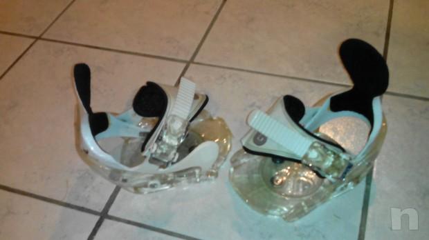 scarponi e attacchi snowboard mis. 33 foto-7096