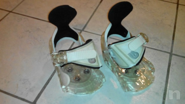 scarponi e attacchi snowboard mis. 33 foto-7094