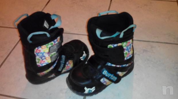 scarponi e attacchi snowboard mis. 33 foto-4025