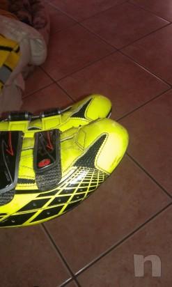 Scarpe da ciclismo Sidi Laser Fluo numero 45 foto-7162