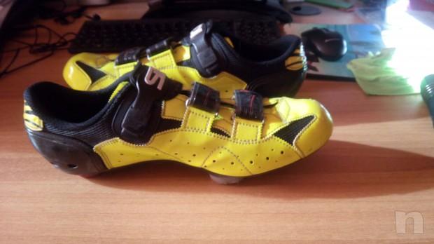 Scarpe da ciclismo Sidi Laser Fluo numero 45 foto-7163