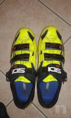 Scarpe da ciclismo Sidi Laser Fluo numero 45 foto-7161