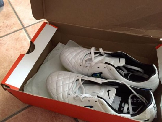 Nike tiempo bianche nuove 40 foto-416