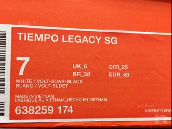 Nike tiempo bianche nuove 40 foto-417