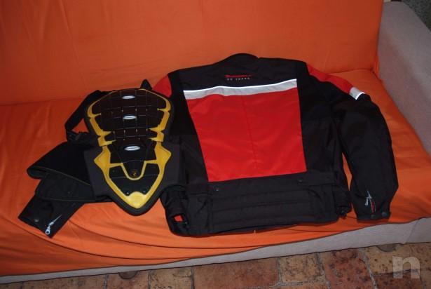 Giacca e protezione schiena foto-432