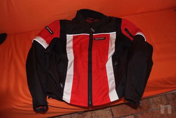 Giacca e protezione schiena foto-470