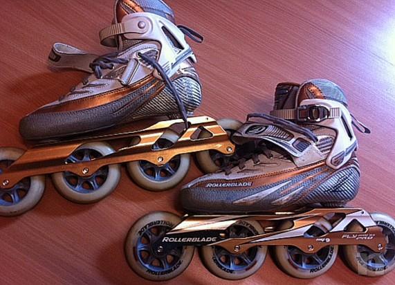 Pattini Rollerblade da corsa foto-4386