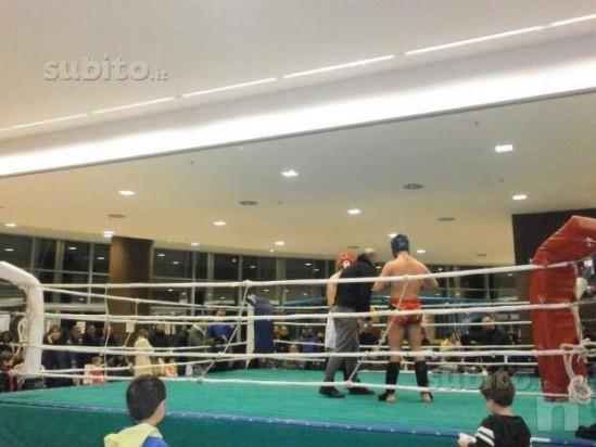 Vendo ring professionale da pugilato e kick boxing foto-485