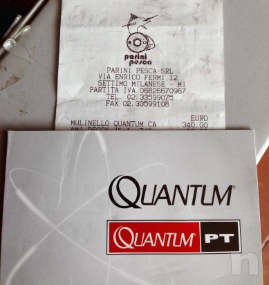 Mulinello spinning quantum cabo 80 pts foto-492