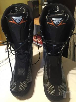 scarpetta termoformabile per scarponi dynafit taglia 43 ( scafo 315mm ) foto-4517