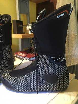 scarpetta termoformabile per scarponi dynafit taglia 43 ( scafo 315mm ) foto-8034