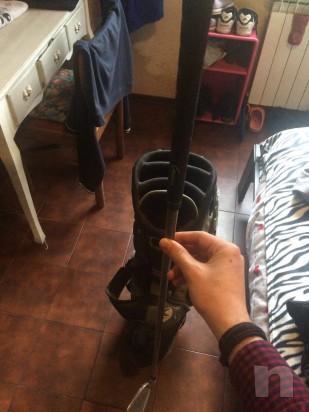 Mazza da golf + mazza numero 7 foto-8038