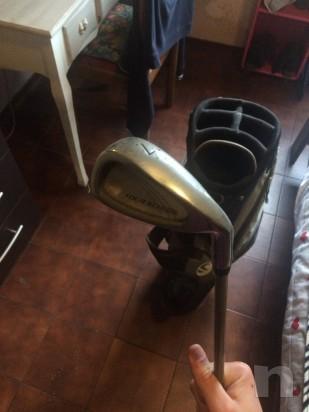 Mazza da golf + mazza numero 7 foto-8037