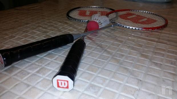 Racchette volano Badminton Wilson foto-8321