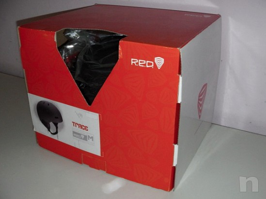 Casco protettivo Red Trace TG M come nuovo foto-8409