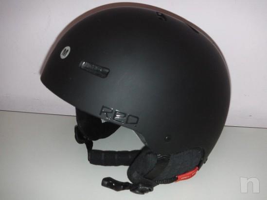 Casco protettivo Red Trace TG M come nuovo foto-8406