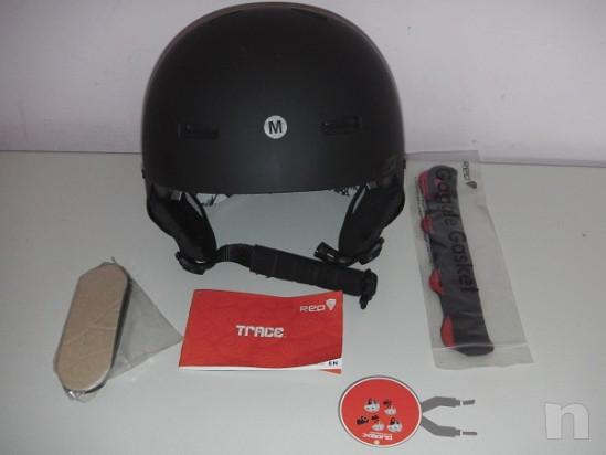 Casco protettivo Red Trace TG M come nuovo foto-8408