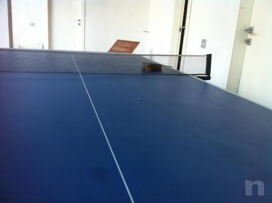 Tavolo ping pong richiudibile  foto-8540